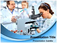 Medical Microbiology Template PowerPoint