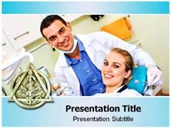 Dentist Background PowerPoint Slides
