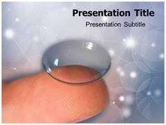 Rigid Lens PowerPoint Background