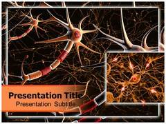 Neuron Parts PowerPoint Background