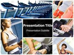 Gym PowerPoint Background