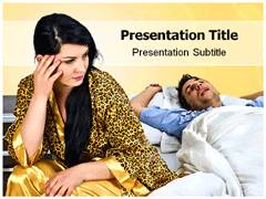 Insomnia Causes Template PowerPoint