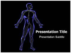 Central Nervous System Template PowerPoint