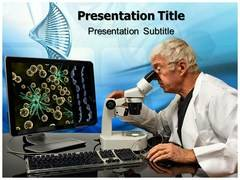 Genetic Engineering Food PowerPoint Design