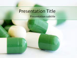 Pills Template PowerPoint