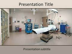 Operation Theatre PowerPoint Slides