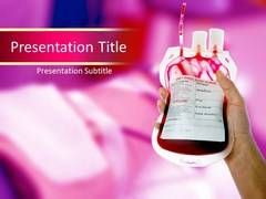 Blood Donation PowerPoint Slides
