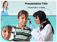 Ear Disorder PowerPoint Slide