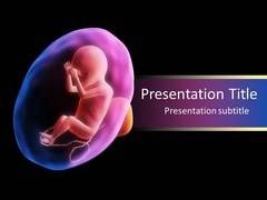 Fetus PowerPoint Background