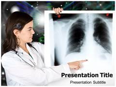 X Radiation PowerPoint Theme