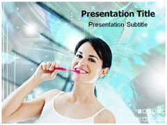 Oral Hygiene Tips PowerPoint Backgrounds