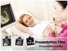 Ultrasonography PowerPoint Theme