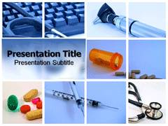 Medical Device PowerPoint Background