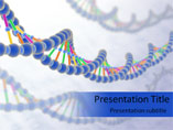 DNA Strand PowerPoint Slide