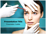 Botox Injection PowerPoint Background