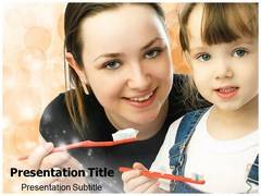 Tooth Brushing PowerPoint Templates