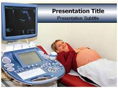 Ultrasonics Template PowerPoint