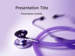 Medical Stethoscope PowerPoint Slides