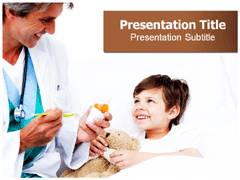 Pediatric Surgeon PowerPoint Slides