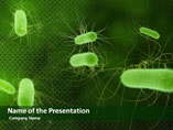 Micro Organisms PowerPoint Background