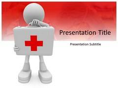 First Aid Template powerpoint