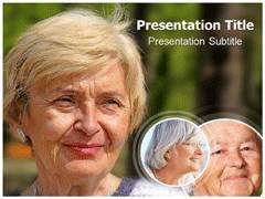 Wrinkles Template PowerPoint