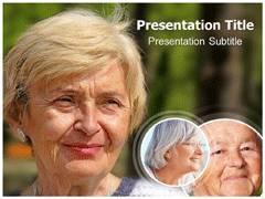 Wrinkles Template PowerPoint