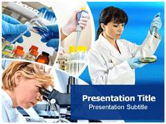 Research Lab Template PowerPoint
