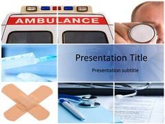 Ambulance PowerPoint Backgrounds