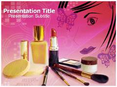 Beauty Products PowerPoint Slide