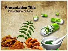 Herbal Medicine Template PowerPoint