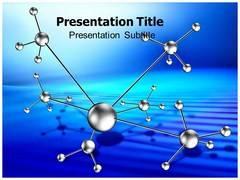 Atom Template PowerPoint