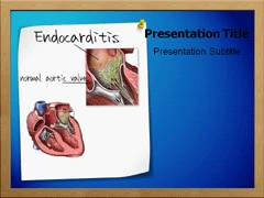 Endocarditis PowerPoint Templates, Endocarditis PowerPoint Slides Templates