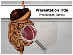 Liver cirrhosis powerpoint template powerpoint slides template giardiasis powerpoint background toneelgroepblik Image collections