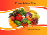 Diets and Nutritions PowerPoint Slide