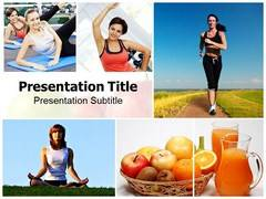 Fitness PowerPoint Background