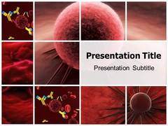 Skin Cancer Cells Power Point Design