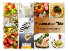 Healthy Eating PowerPoint Background