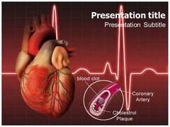 Coronary Artery PowerPoint Background