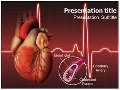 Coronary Artery PowerPoint Background
