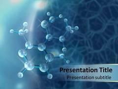 Molecule Template PowerPoint