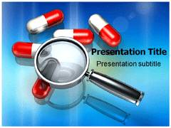 Drug Discovery Template PowerPoint