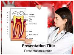 Dental Pulp PowerPoint Theme