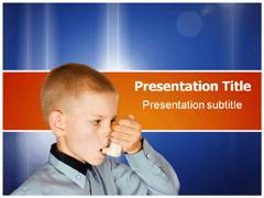Respiratory Disorders PowerPoint Background