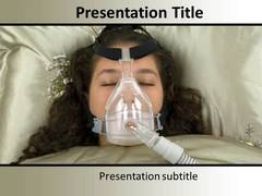 Sleeping Apnea Treatment PowerPoint Backgrounds
