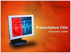 Oxygen Monitor PowerPoint Theme