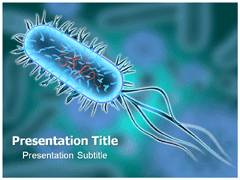 Bacterium Template PowerPoint