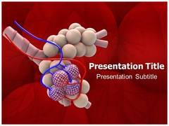 Pneumonia Signs PowerPoint Background
