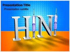 H1N1 Treatment PowerPoint Slide