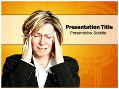 Headache Causes PowerPoint Slide